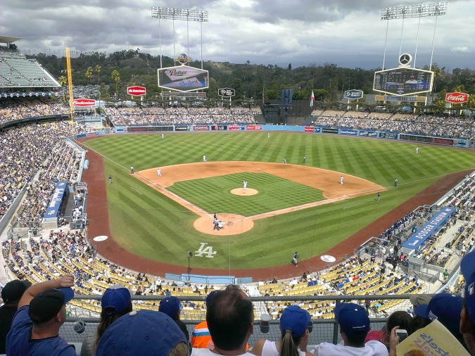 The Los Angeles Dodgers host the San Diego Padres on October 4, 2015